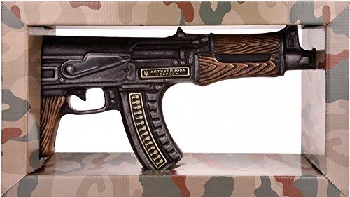 Zlatogor Kalashnikov AK 47 Vodka mit Geschenkverpackung (1 x 0.5 l)