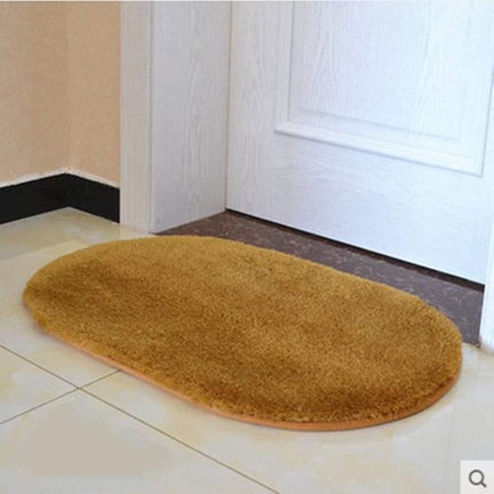 50cm ZREED Microfiber Soft Absorbent Non Slip Bathroom Mat Fluffy Shaggy Rug For Living Room 30