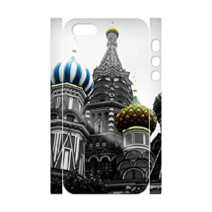 3D Stevebrown5v Cathedral Case For Sam Sung Note 4 Cover Cases St Basils Cathedral Moscow, [White]