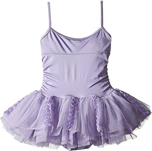 Bloch Girl's Rosette Cami Tutu Leotard Dress 8-10 (Rosette Tutu)