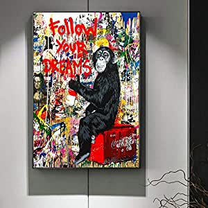 xingbu Sin Marco Follow Your Dreams Street Wall Graffiti Art ...