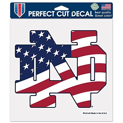 WinCraft NCAA Notre Dame 11169115 Perfect Cut Color Decal, 8