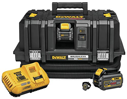 - DEWALT DCV585T2 FLEXVOLT 60V Max Dust Extractor Kit
