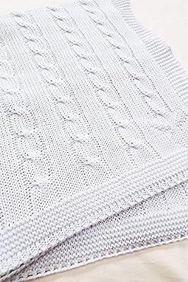 Wallaboo Manta de algodón orgánico de calidad premium con ...