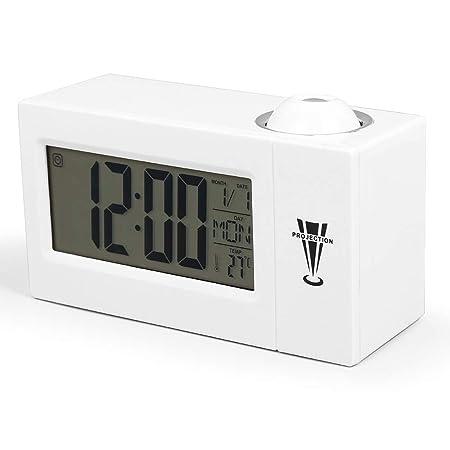 YJFNZ Reloj Despertador Digital Proyección Led Reloj Despertador ...