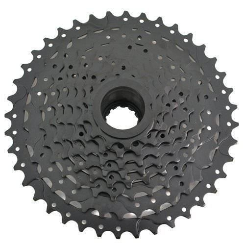 SunRace CSM990 Wide Ratio Cassette 11-40T, 9 Speed, Black #ST1456 ()