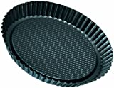 zenker ring slicer - Zenker Non-Stick Carbon Steel Flan/Tart Pan, 11-Inch