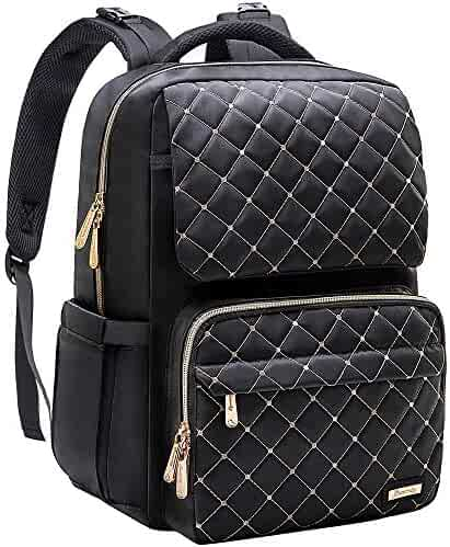 Diaper Bag Backpack, Bamomby Multi-Function Waterproof Travel Backpack Nappy Bags for Mom,Dad with Insulated Pockets, Changing Pad, Baby Shower Gifts for Boys,Girls-Black