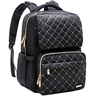 Diaper Bag Backpack, Bamomby Multi-Function Waterproof Large Travel Backpack Nappy Bags for Mom,Dad with Changing Pad, Newborn Diapers Registry Baby Shower Gifts-Black