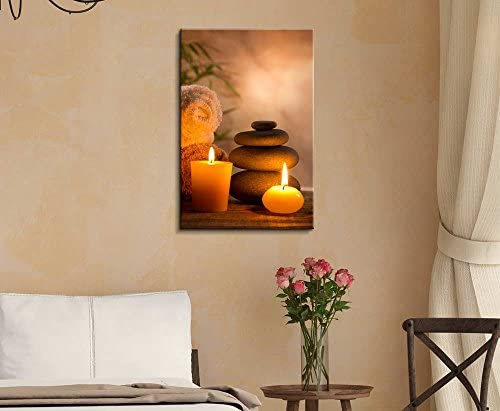 Spa Still Life with Aromatic Candles Wall Decor
