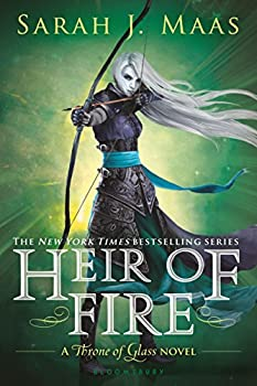 Heir of Fire by Sarah J. Maas fantasy book reviews YA