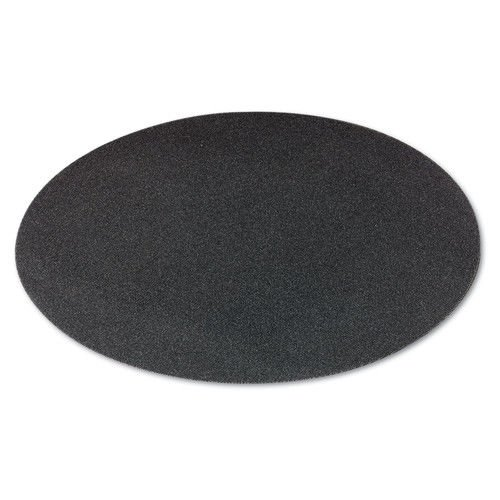 Boardwalk BWK50206010 Sanding Screens, 20'' Diameter, 60 Grit, Black, 10/carton