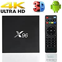 MaQue X96 Android 6.0 Smart TV Box 2G 16G Amlogic S905X Quad Core 2.4GHz WiFi 4Kx2K HD Set Top Box With USB 2.0 AV LAN TF Card Slot