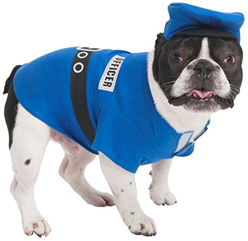 Fashion Pet Police Officer Pet Costume, Small -