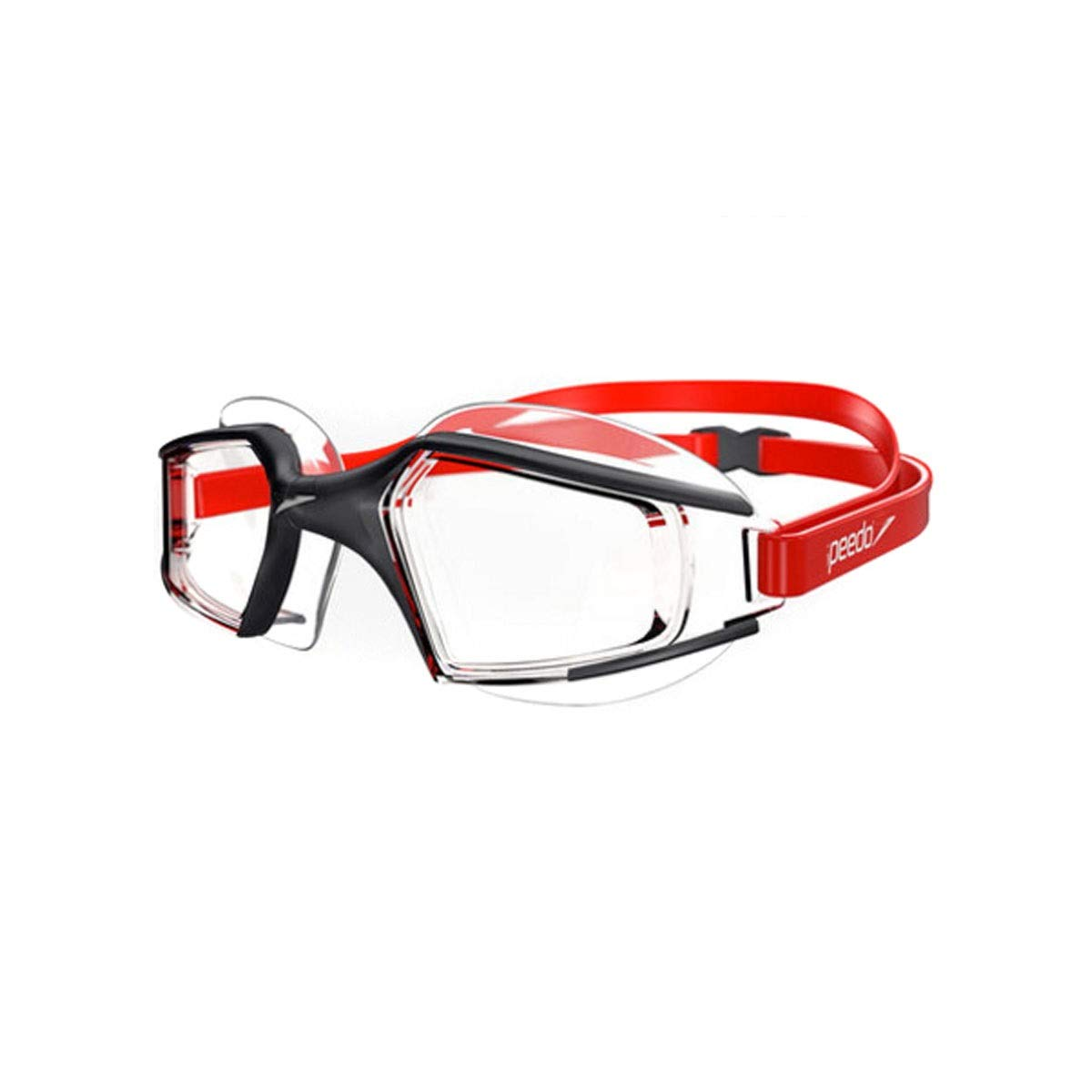 Red 6 Qiaoxianpo01 Goggles, Comfortable Large Frame Goggles, Coated HD Waterproof And Anti-fog Professional Design, Black, With Multiple colors