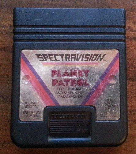 Patrol Atari 2600 Game - 1983 Audio Visual By Spectravideo International, Ltd. Spectravideo Planet Patrol Game Cartridge #Sa-202 for Atari and Sears Video Game Systems (Atari 2600 & Sears System That Takes Atari 2600 Games)