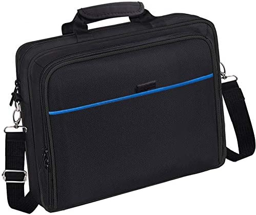 taessv PS4 Bag PS4 Carrying Travel Case Protective Shoulder Bag for PS4 Slim & PS4 Pro, Gaming Console, Controllers and Other Accessories