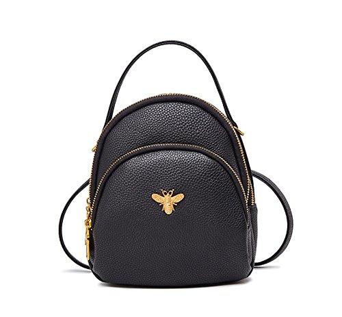 à femmes à la sac main décontracté PU 18 en de 9 sac des mode dos souple 20cm Sac multifonctionnel cuir wxIYqOn6C