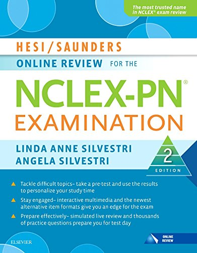 new used books hesi saunders online review for the nclex pn