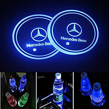 Amazon.com: AMG LED Cup Holder Lights, Mercedes-Benz AMG ...