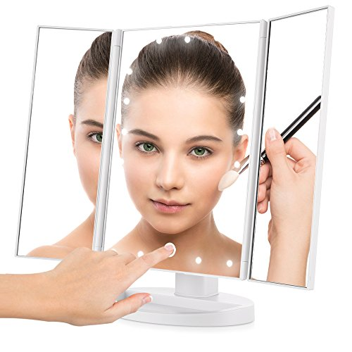 Top 10 Best Led Lighted Makeup Vanity Mirrors Reviews 2017