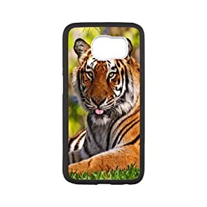 Chaap And High Quality Phone Case For Samsung Galaxy S6 -Animal Tiger Pattern-LiShuangD Store Case 19