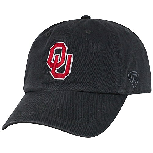 Top of the World Oklahoma Sooners Men's Hat Icon, Charcoal, -