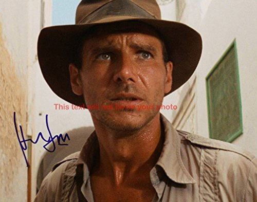 Indiana Jones and the Raiders of the Lost Ark Harrison Ford Autographed 11x14 Poster Photo from Celebrity Graphs