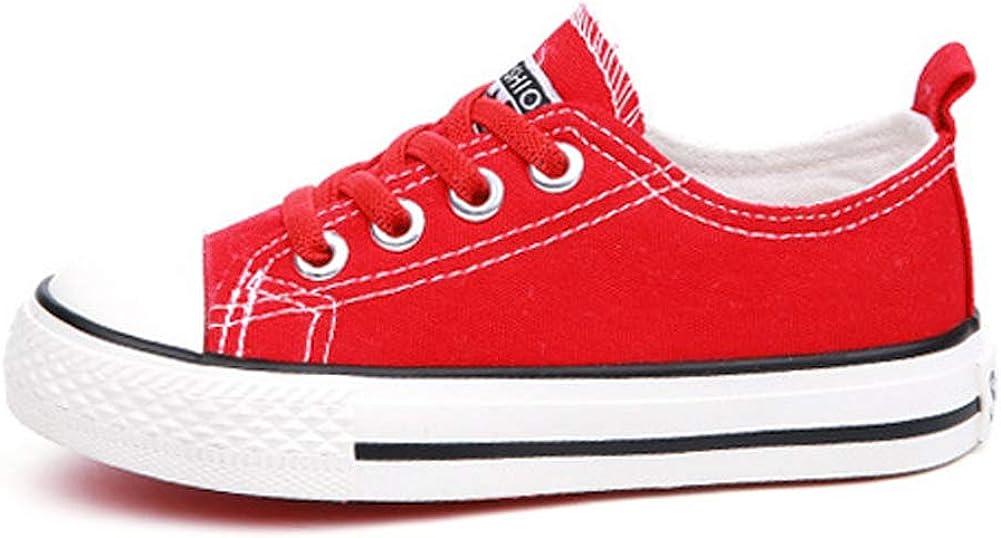 iDuoDuo Kids Classic Neutral Colored Easy School Low Top Uniform Sneakers Toddler//Little Kid//Big Kid