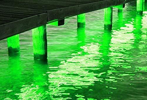 Pimp My Dock DIY Green Premium 15,000 Lumen LED Under Dock Lighting Kit SMD5630 IP68 Completely Waterproof (Green)
