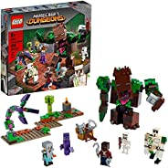 LEGO Minecraft The Jungle Abomination 21176 Building Kit Playset; Fun Minecraft Dungeons Exploring Toy for Kid