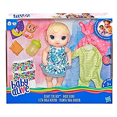 Baby Alive Ready for Bed Baby Doll: Toys & Games