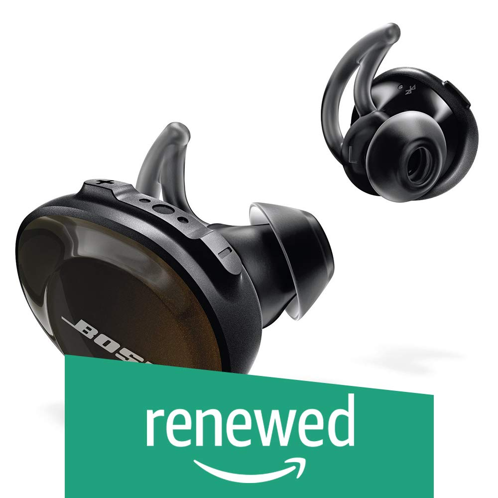 Bose SoundSport Free Wireless Sport Headphones – 774373-0010 Black Renewed