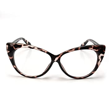 refaxi retro vintage womens eyeglasses cat eye plastic frame glasses lens black color2