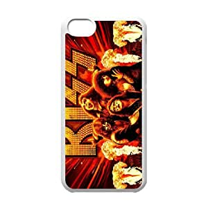 FOR Iphone 5c -(DXJ PHONE CASE)-Kiss Music Band-PATTERN 6