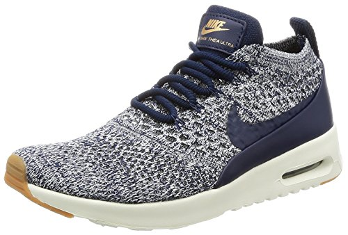 Nike Vrouwen Air Max Thea Ultra Fk Hardloopschoen College Navy