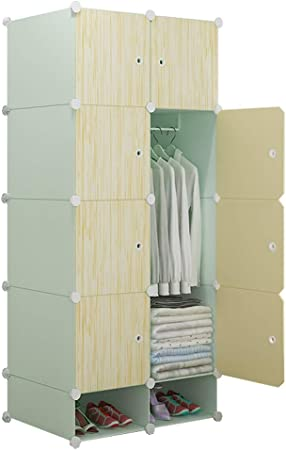 Jurass - Armario portátil para Colgar Ropa, plástico, combinación de Resina, armarios modulares, Ahorro de Espacio, 76 cm de Largo x 47 cm de Ancho x 165 cm de Alto: Amazon.es: Hogar