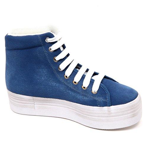 Blu Woman Jeffrey Donna Sneaker Scarpe Campbell Vintage D2250 Chiaro Shoe 6xqBxWSXf