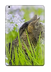 Best Quality Case Cover With Kitty In Flower Field Nice Appearance Compatible With Ipad Mini 6259275I84629832