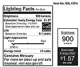Feit Value Pack 13w=60w Soft White CFL EcoBulbs 1 Box
