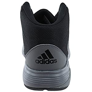 adidas Originals Men's CF Ilation Mid Basketball Shoe, Grey Four/Grey Four/Black, 11 Medium US