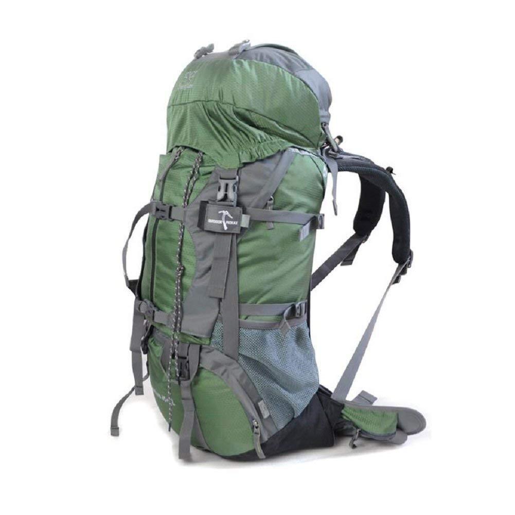 GZZ Outdoor-Rucksack 50L große Kapazität, Outdoor-Wandern, Bergsteigen, Reiten Rucksack, Rucksack, Rucksack, mit Regenschutz, Solide und Langlebig, männlich und Weiblich General Rucksack B07G847DPP Wanderruckscke Günstiger 9433bd