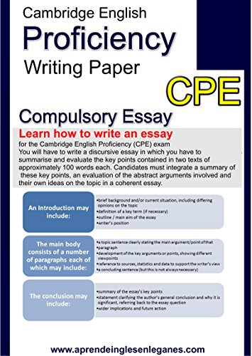 Health Essay Writing How To Write An Essay For The Cambridge English Proficiency Cpe Exam By  Synthesis Essay Tips also Health Care Essay How To Write An Essay For The Cambridge English Proficiency Cpe  The Yellow Wallpaper Critical Essay