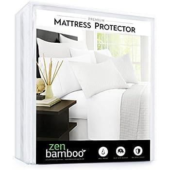 Amazon Com Waterproof Bamboo Mattress Protector