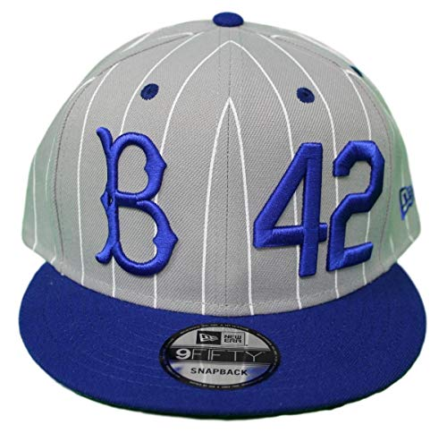 New Era Brooklyn Dodgers 9FIFTY MLB Cooperstown Jackie Robinson Hat - ()