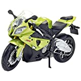 Maisto Fresh Metal BMW S1000RR 1:18 Scale Model Bike (Green)