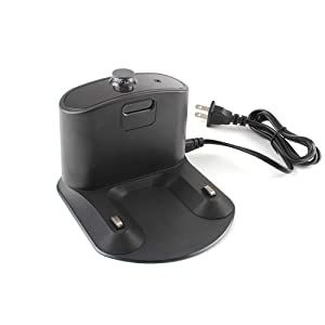 Integrated Home Base Charging Dock Charger with Line Cord For iRobot Roomba 500 600 700 800 900 series