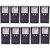 10 Pack Maxtop AKCM0017-1800-D KNB-16 KNB-16A KNB-17 KNB-17A KNB-22 KNB-22N Battery for Kenwood TK-190 TK-280 TK-380