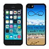 img - for Iphone 5s Case  Colorful Patern Back Cover ,Fashion Print Back Skin Shell Case [Scratch-resistant] [Perfect Fit] [Anti-slip] [Good Grip] Back Cover for Iphone 5s (Forever & Love) (Pop infinity anchor with love and sandy beach) book / textbook / text book