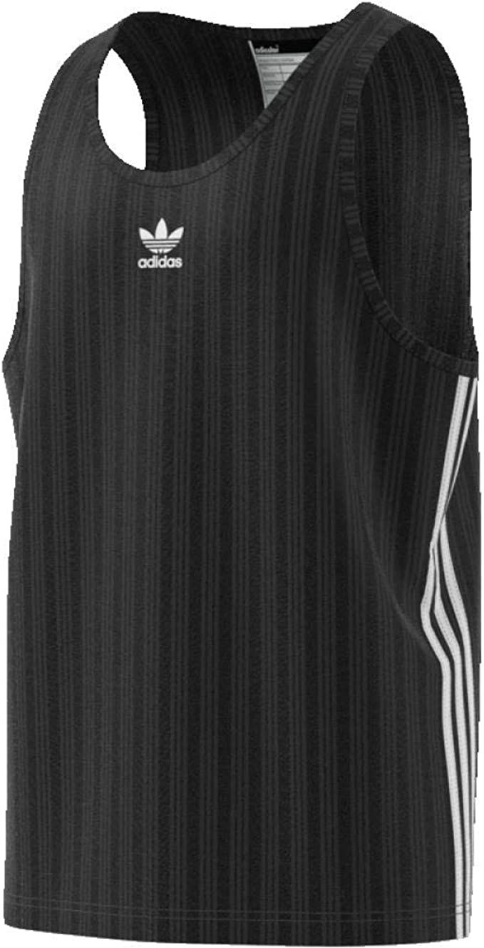 banco Electrizar derrota  Amazon.com: adidas Originals Football Tank Vest Large Black: Clothing